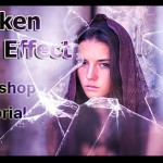 Photoshop Tutorial – Broken Glass Effect in Photoshop