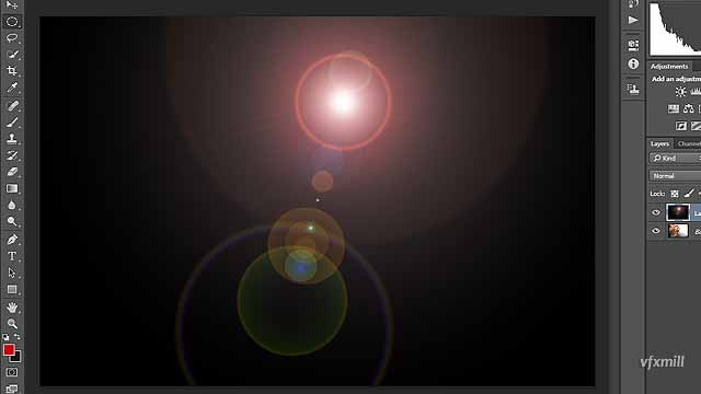 How to create and use lens flare in photoshop, Photoshop Tutorial, Learn Photoshop, Onl;ine Photoshop, How-to-create-lens-flare-in-Adobe-Photoshop_step_8