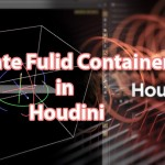 How To Rotate Fluid Container in Houdini