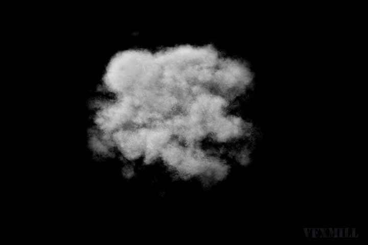 Volumetric render in Maya - Voxel
